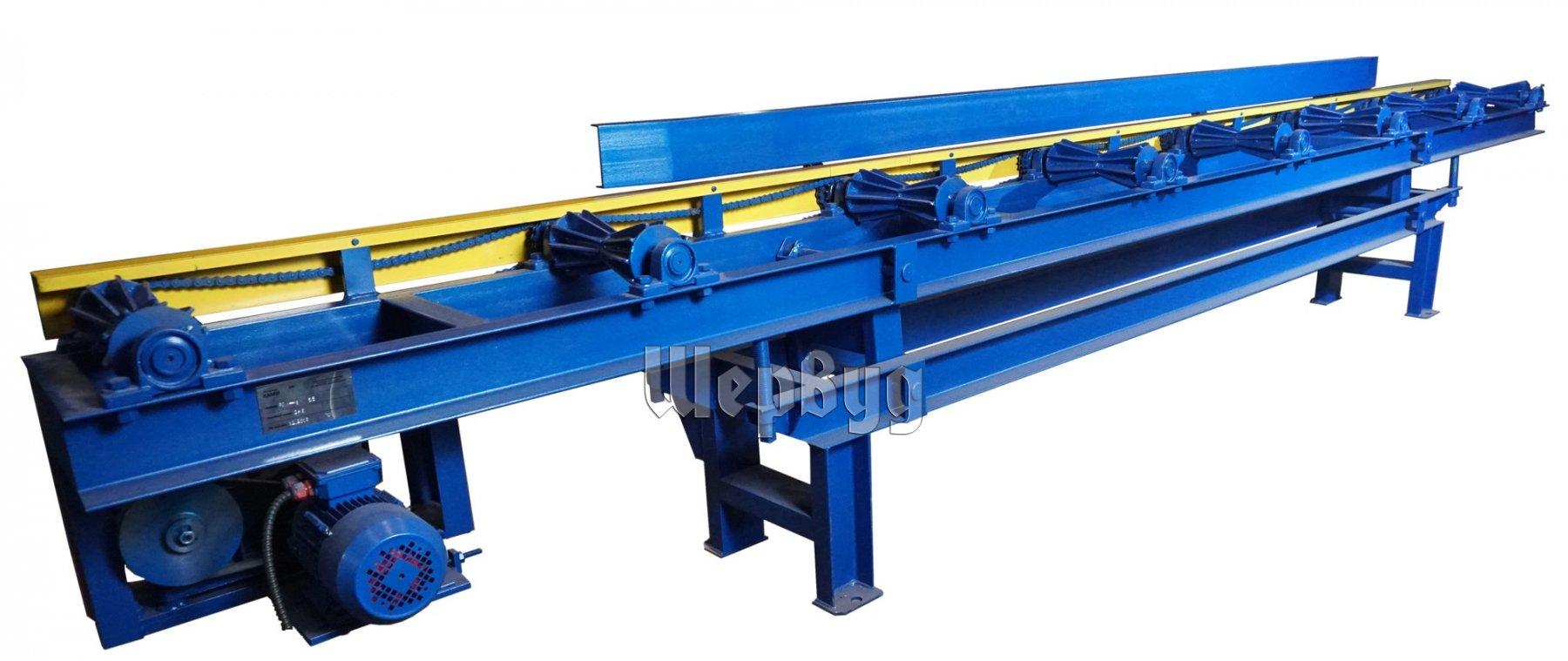 Приводные рольганги для металлообработки диплом скребковый конвейер