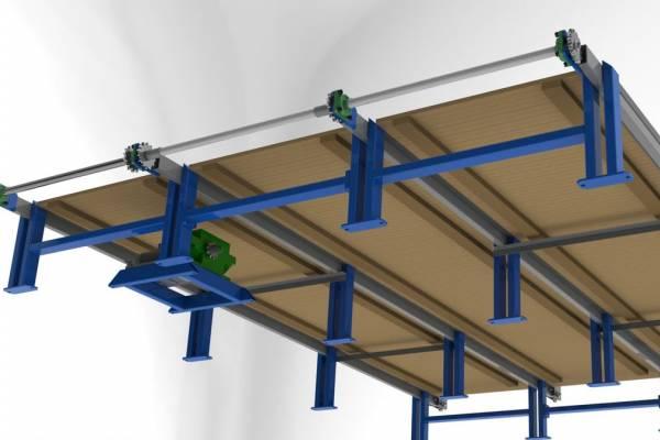 Поперечный транспортер для досок камаз конвейер