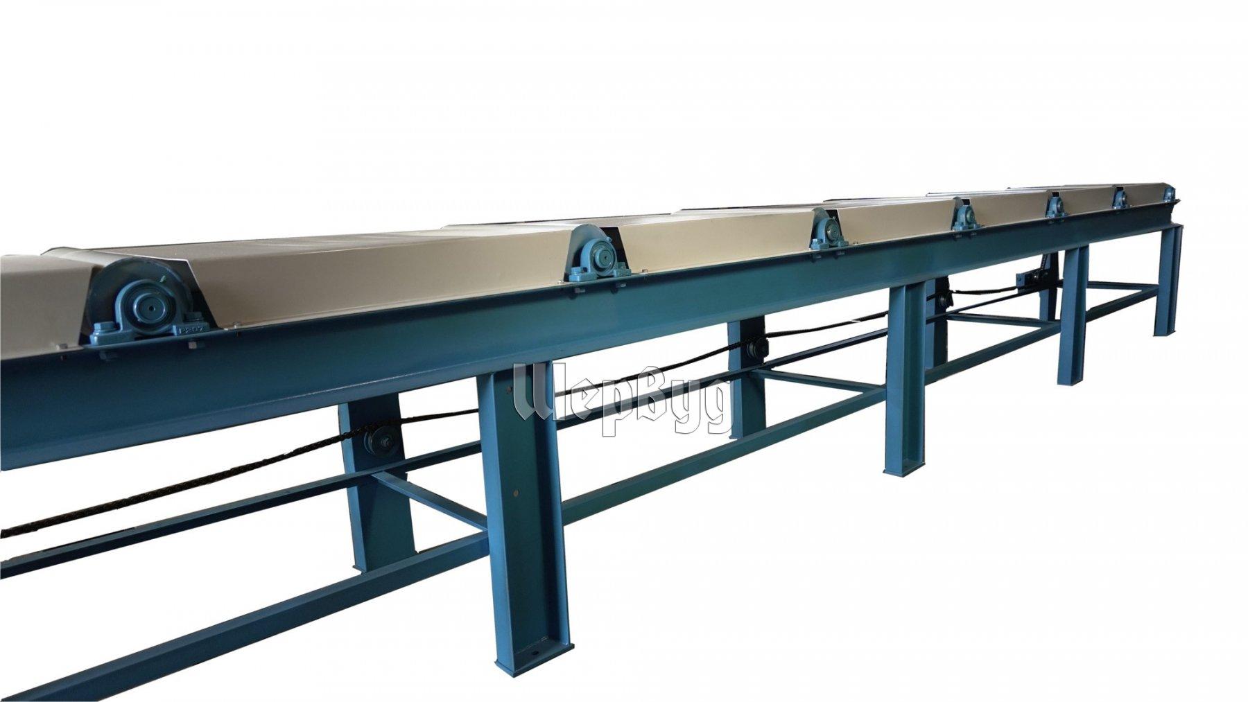 Приводные рольганги для металлообработки элеватор или хпп